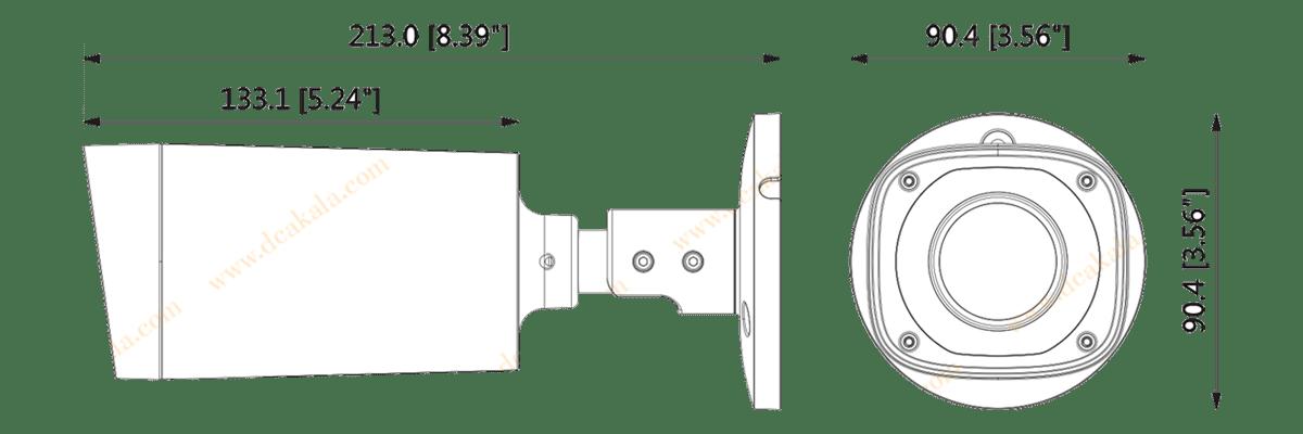 دوربین مداربسته IP داهوا IPC-HFW2231RP-VFS-IRE6