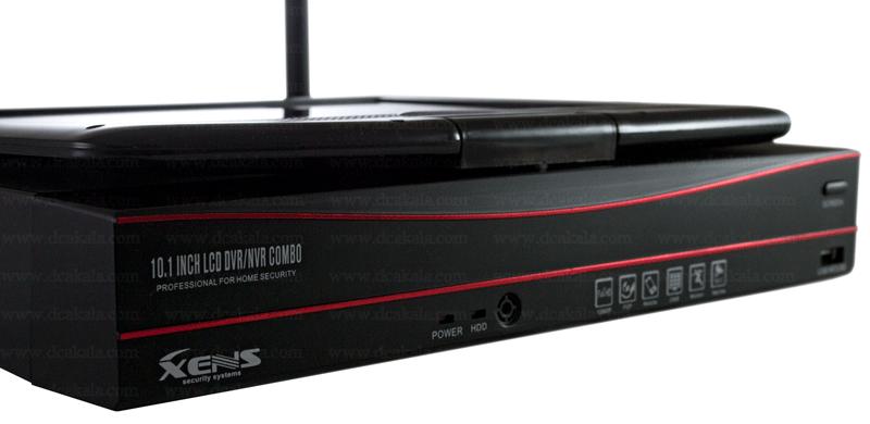 پک چهار دوربین وایرلس زنس به همراه ال سی دی گردان