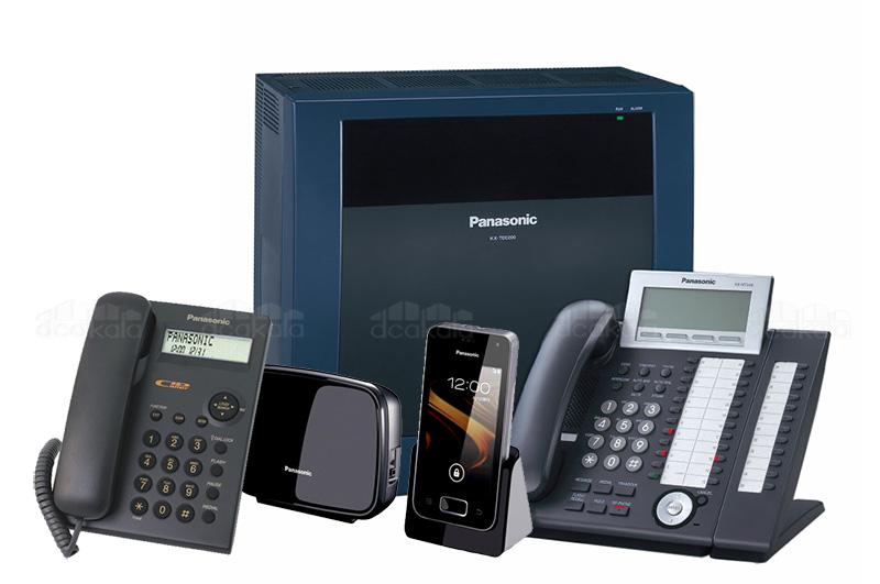 تلفن بی سیم ، تلفن رومیزی ، تلفن دیجیتال ، دستگاه سانترال