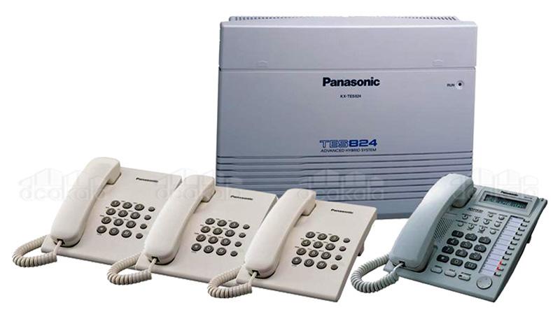 دستگاه سانترال تلفن سانترال