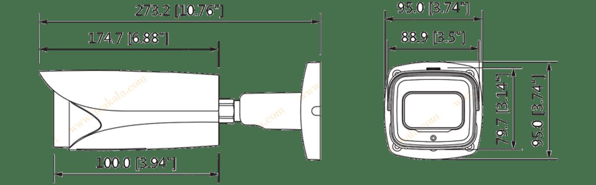 دوربین مداربسته IP داهوا مدل DH-IPC-HFW5231EP-Z12E