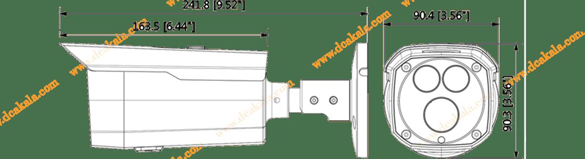 دوربین مداربسته تحت شبکه داهوا  DH-IPC-HFW4431DP-BAS-H