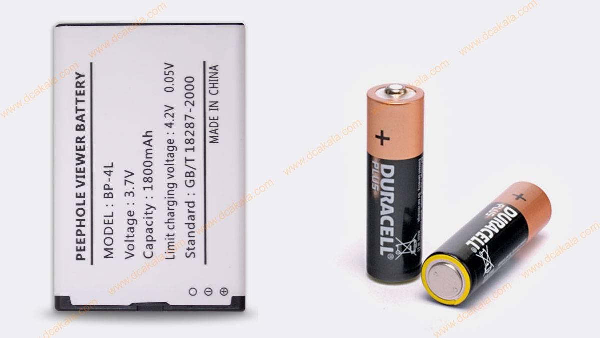باتری چشمی دیجیتال