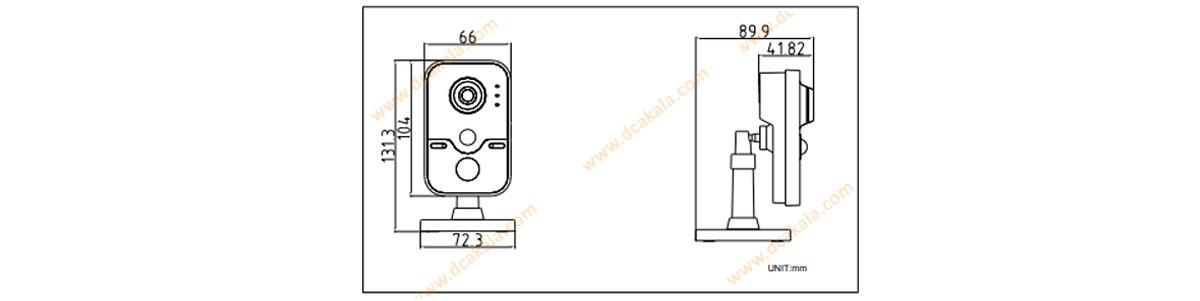 دوربین مدار بسته هایک ویژن مدل 2420f-iw