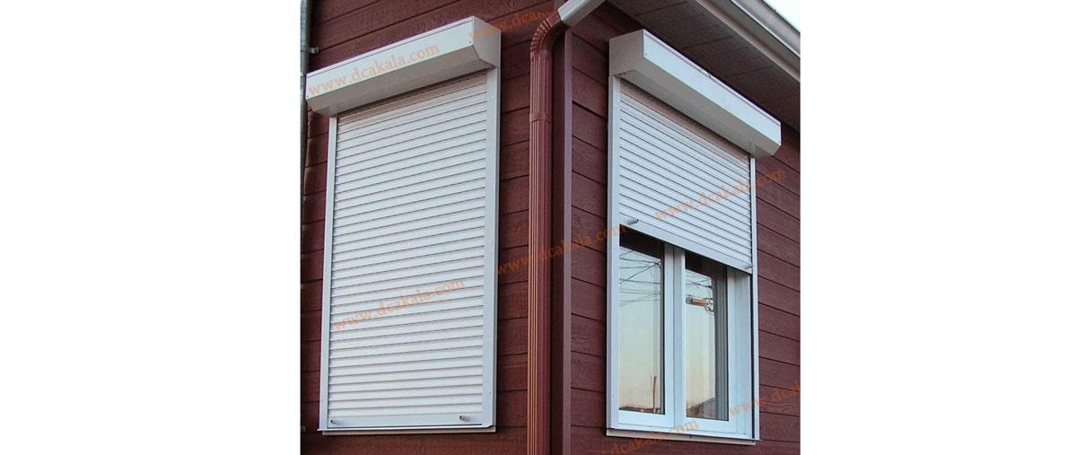 کرکره برقی برای پنجره ها