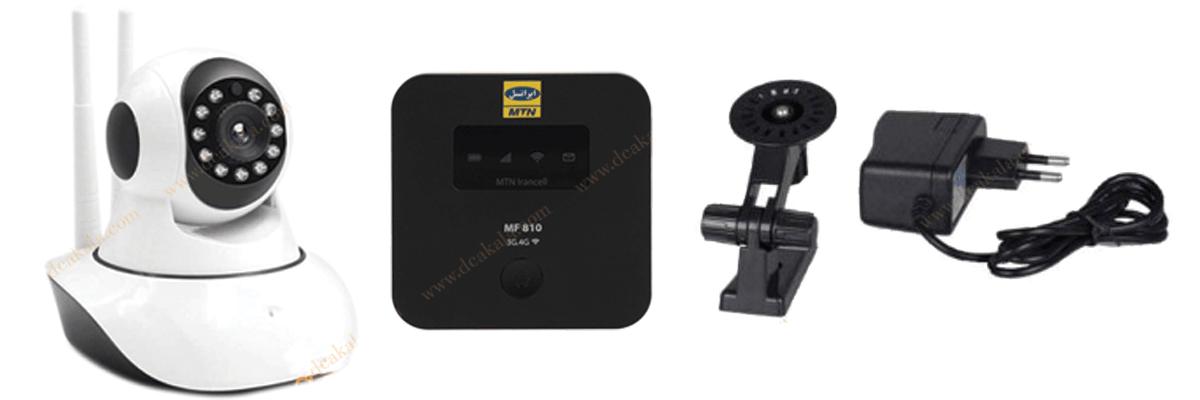 پک دوربین وایرلسی سیمکارتی مدل SC3551
